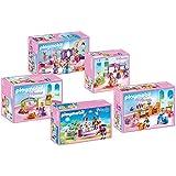 PLAYMOBIL Set para el castillo de la princesa 6848 - 5 piezas: 6850, 6851, 6852, 6853, 6854,