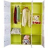 Armario de almacenaje para niños para puerta 12 Character WB diseño de cubos