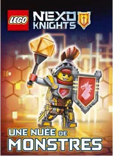 Book's Cover of LEGO Nexo Knights : Une nuée de monstres