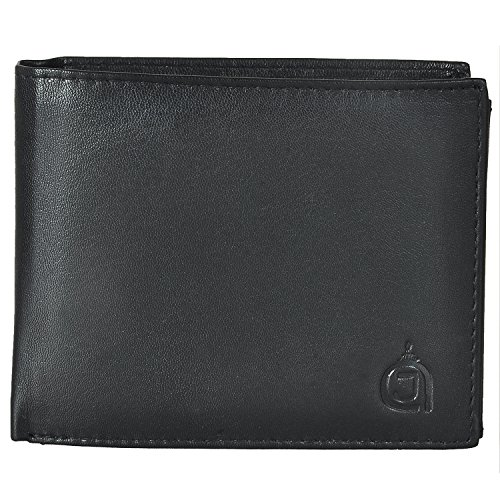 azrajamil-premium-finished-nappa-black-bi-fold-genuine-leather-wallet