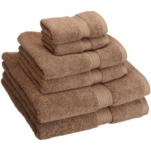 Superior 900 Gram cotone egiziano 6 pezzi Set di asciugamani,