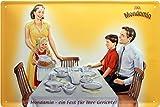 Mondamin für Ihre Küche geprägt Nostalgie Reklame Blechschild 20x30 Blech 660