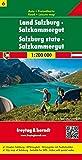 Berndt Freytag Autokarten, Blatt 6: Land Salzburg - Salzkammergut - Maßstab 1:200 000 - Freytag-Berndt und Artaria KG