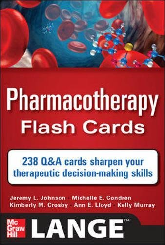 Pharmacotherapy Flash Cards (Pharmakologie-flash-karten)
