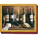 Creative Tops Vintage vin Pouf coussin Plateau