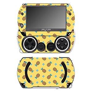 Disagu SF-14232_1140 Design Folie für Sony Play Station Portable Go – Motiv Ananas 02″ klar