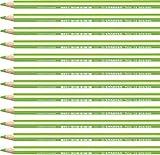 STABILO Trio Maxi matita colorata colore Giallo/Verde - Confezione da 12