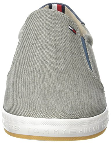 Tommy Hilfiger H2285owell 2d2, Sneakers Basses Homme Gris (Light Grey 007)