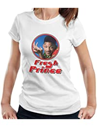 Fresh Prince Of Bel Will Smith Retro Photo Frame Women's T-Shirt