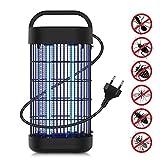 JOLVVN 20W Lampe Anti Moustique LED UV 20-120m² Tue Mouches Insectes Electrique, Anti moustiques Intérieur Exterieur pour Chambre,Salon,...