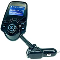 Trasmettitore fm bluetooth, Veetop® Fm transmitter bluetooth, Caricabatteria da auto,