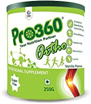 Pro360 Ortho Nutritional Supplement (Vanilla Flavour) Ideal Protein Powder For Bone, Joints And Diabetic Patie