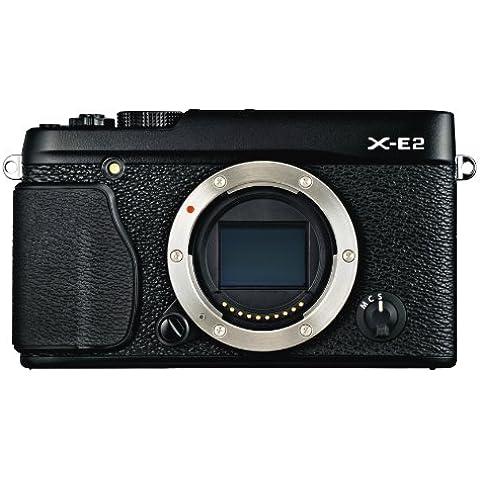 Fujifilm X-E2 Fotocamera Digitale 16 MP, Sensore X-Trans CMOS II APS-C, Ottiche Intercambiabili, Solo Corpo, Nero