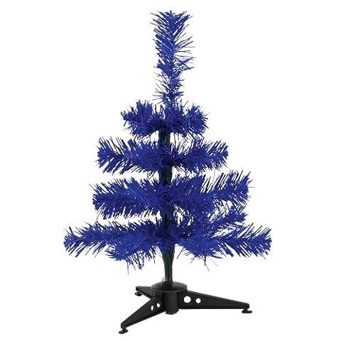 Mini Künstlicher Weihnachtsbaum - Farbige Zweige Tischweihnachtsbaum - Blau