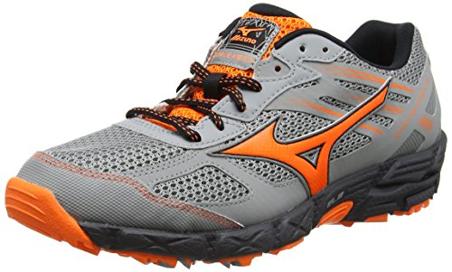 Mizuno Herren Synchro Jr Traillaufschuhe Grau (Griffin/clownfish/dark Shadow)