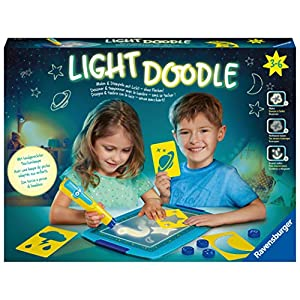 Ravensburger Creation 18084 Light Doodle Moon and Stars