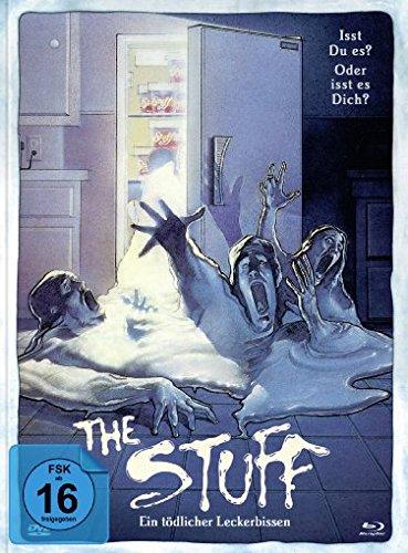 The Stuff - Ein tödlicher Leckerbissen - Mediabook  (+ DVD) [Blu-ray]