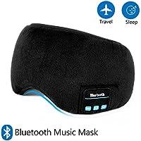 Schlafmaske mit Bluetooth,LC-dolida Augenmaske mit kopfhörern Eye Mask Sleep für Reisen mit Dem Flugzeug Schlafen... preisvergleich bei billige-tabletten.eu