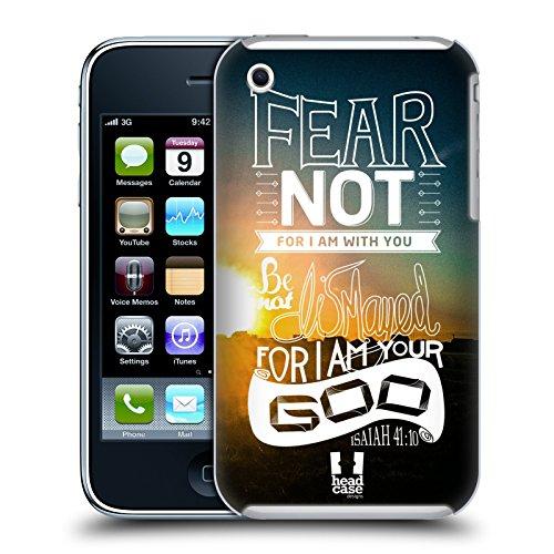 Head Case Designs Keine Angst Haben Christlicher Snapshot Ruckseite Hülle für Apple iPhone 5 / 5s / SE Keine Angst Haben