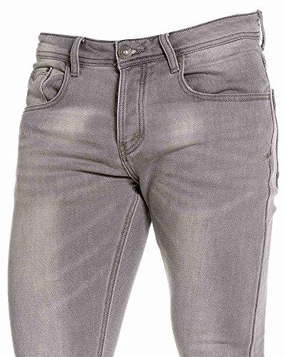 BLZ jeans - Jogg jean gris délavé skinny fit Gris