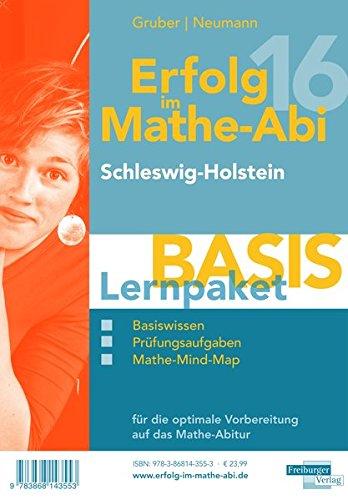 Erfolg im Mathe-Abi 2016 Lernpaket Basis Schleswig-Holstein: mit der Original Mathe-Mind-Map