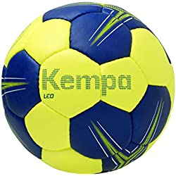 Kempa Leo Balón de Entrenamiento, Azul (Deep Blue) / Lima, 1