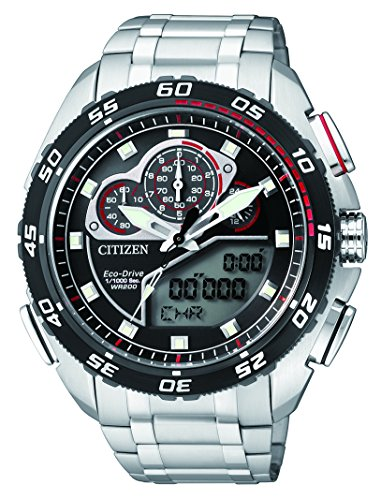 Citizen Herren-Armbanduhr Promaster Land Analog - Digital Quarz Edelstahl JW0124-53E