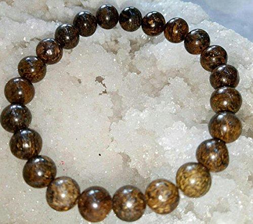 BRONZITE Natural Stone pulsera 8mm Women Yoga pulsera Healing pulseras Genuine Broncita pulsera For Women Gift