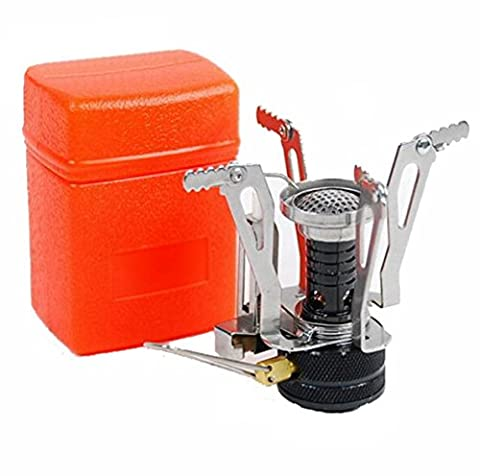 Ultralight Portable Outdoor Backpacking Camping Stoves with Piezo