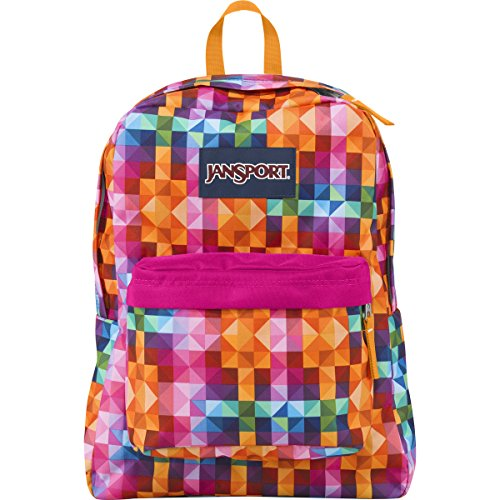 JanSport SuperBreak Backpack (Spring 2015) (Multi Spectrum)
