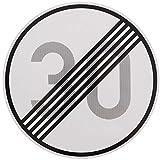 ORIGINAL Verkehrszeichen ENDE 30 km/h Verkehrschild für den 40 Geburtstag Geschenk mit RAL Gütezeichen StVO Geburtstagsschild Straßenschild Verkehrsschilder Schild Schilder Straßenzeichen Straßenschilder Geschwindigkeitsaufhebung Geburtstagsgeschenk