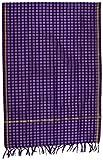 #10: SD Fabrics® Banarasi Women's 100% Pure Silk Dupatta (Purple)