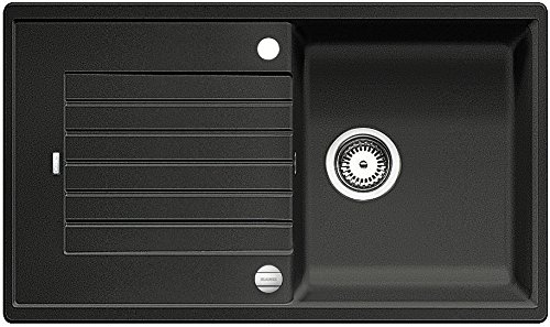 Preisvergleich Produktbild Blanco Zia 5 S Anthrazit Schwarz Granitspüle Spültisch Küchenspüle Auflage 50US