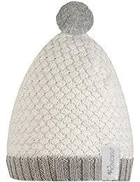 Kindsgut - Gorro con pompón para bebés y niños ...