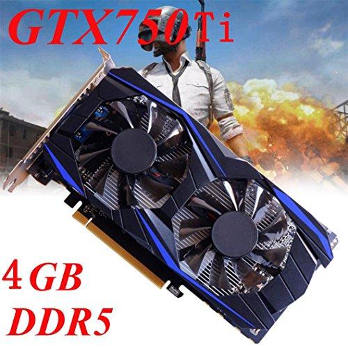 Thread_de Grafikkarte, GTX 750Ti 4GB DDR5 128Bit VGA DVI HDMI Grafikkarte für NVIDIASeller GeForceSeller Grafikkarten, Grafikkarte, 2G/4G Grafikkarte (GTX 750Ti 4GB)