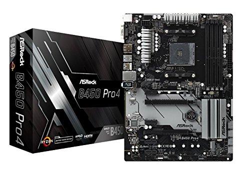 ASRock 90-MXB8B0-A0UAYZ Scheda Madre DDR4, 2x M.2, Realtek GbE, USB 3.1
