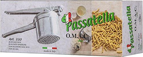 comprare on line Cook Case By Omac Passatella Schiacciapatate, Acciaio prezzo