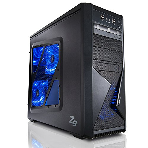 -Kern AMD FX-6300 6x3.5GHz (Turbo bis 4.1GHz), GeForce GTX1050Ti, 1TB HDD, 8GB RAM, Windows 7, DVD RW, LAN • Gamer PC • Gaming Computer • Desktop PC • Gamer Computer • Rechner ()