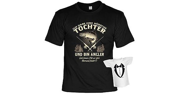 Lustiges Vater Angler Sprüche T Shirt Geschenkset Hübsche