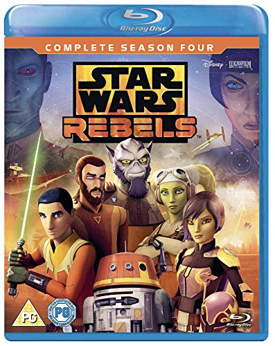 Star Wars Rebels: Season 4 [Blu-ray] [2018]
