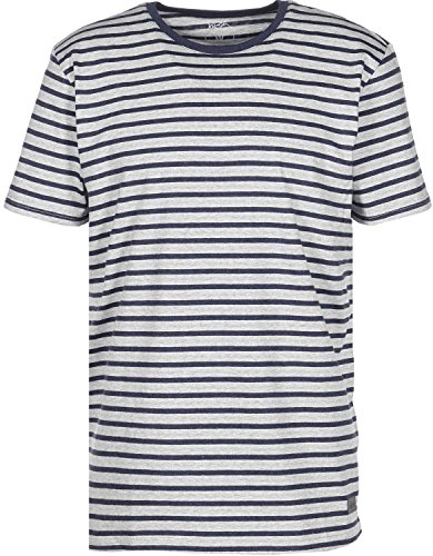 Elkline Marine T-Shirt greymelange/blueshadow