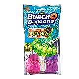 BC direkt 100 Wasserbomben schnell, BunchOBalloons Wasserbomben original, selbstschließend ohne Knoten (pink lila weiss)