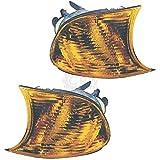 Blinker Frontblinker Set für 3er E46 Bj. 99-01 nur Coupe orange