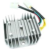 Regulador rectificador genérico de 6 cables 12VCC para Honda Dirt Bike CH125 GY6 Quad 1pieza
