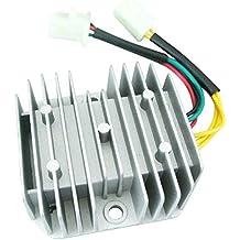 Regolatore di tensione generico, 6 fili, 12 V DC, per motociclette da cross Honda CH125, GY6, Quad, 1 pezzo