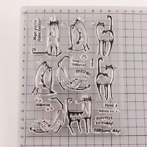 Fairy Clear Stamps Friend Girl Merry Christmas Gummi Transparent Silikon Stempel für Scrapbooking DIY Decor Tool Happy New Year 1 (Clear-stempel Cookie)