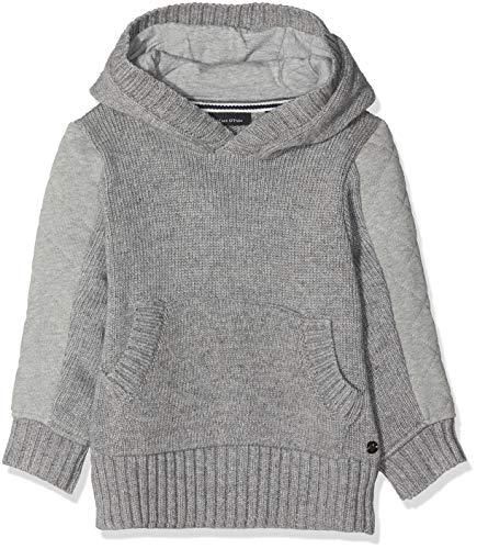 Marc O' Polo Kids Baby-Jungen 1/1 Arm Sweatshirt, Grau (Mittelgrau Melange Gray 8241), 92