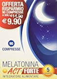 Linea ACT - Melatonina ACT+ Forte 5 Complex - Integratore Alimentare a base di Melatonina - 90 compresse