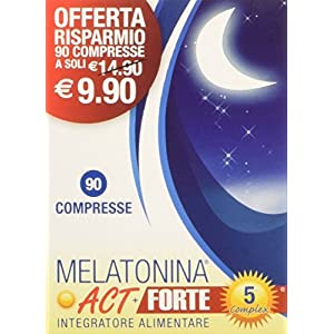 Act Melatonina Forte 5 Complex, 90 Compresse 3 spesavip