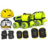 Jaspo Next -Gen Pro junior Skates Combo (skates+helmet+knee+elbow+wrist+bag)suitable for age upto 5 years